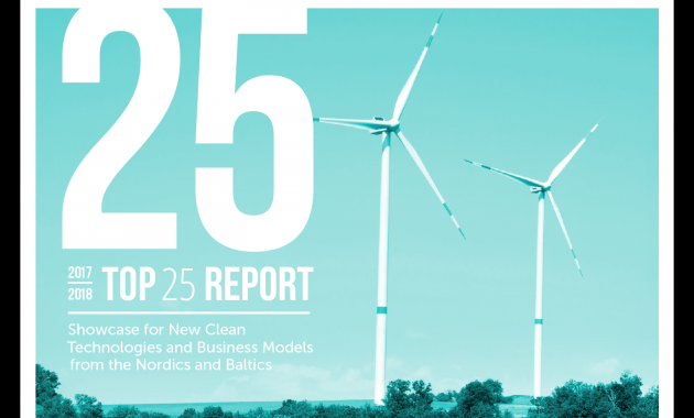 ALINA included in a report of Top 25 Cleantech companies