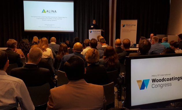 ALINA presents latest research results @ PRA's 11th International Woodcoatings Congress