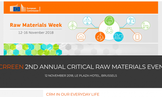 2nd EU Critical Raw Materials Event - Critical Raw Materials in our everyday life